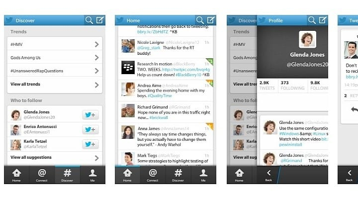 Best BlackBerry 10 Twitter app receives enhancements
