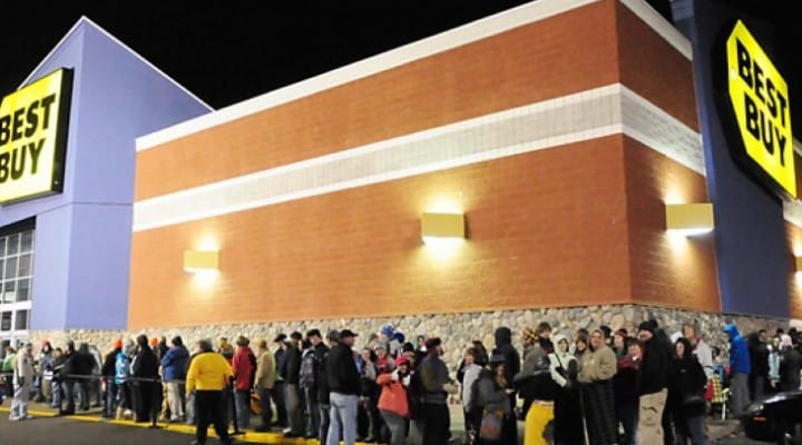 Best Buy join Walmart and Target Thanksgiving opening hours
