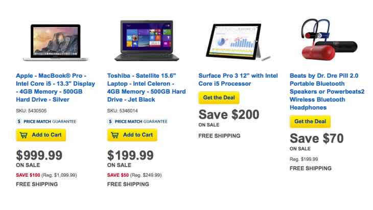 Best Buy Tuesday Tech Day deals
