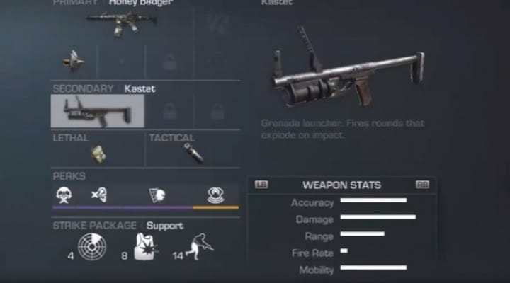 Best Call of Duty Ghosts Gun and weapons setup