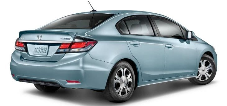 Best MPG cars Honda Civic