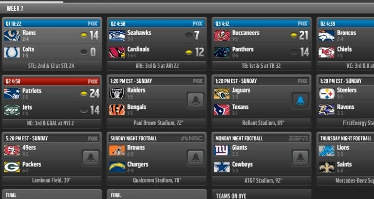 Best NFL apps for 2013 season on Android