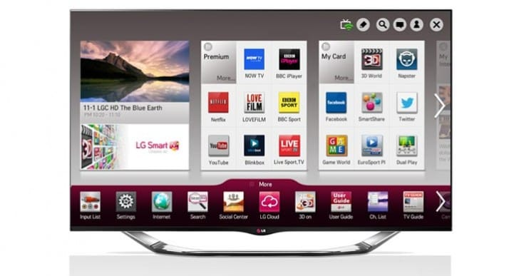 Best Smart TV UI by LG with Sky integration