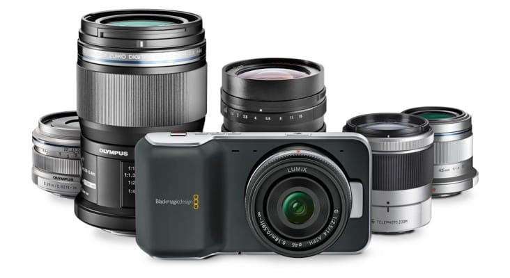 The Blackmagic Pocket Cinema Camera is ideal for shooting videos