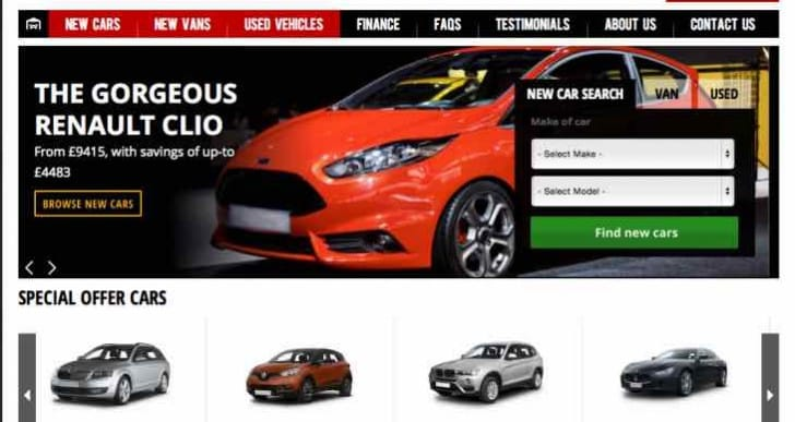 Best new reg cars in UK before 65 registration