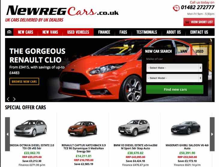 Best new reg cars in UK