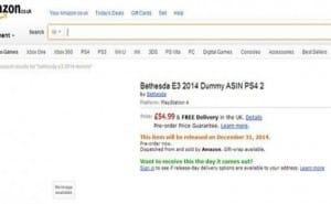 Doom 4 vs. Fallout 4 for Bethesda E3 PS4 game