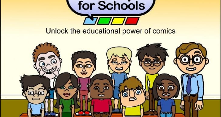 Bitstrips for Schools gains new activities in 2014