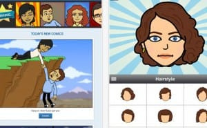 Bitstrips app for iPad, iPhone and Android