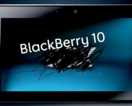 BlackBerry 10 Playbook update confirmed, spec bump uncertainty
