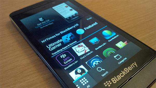 BlackBerry 10 malware prevention for apps