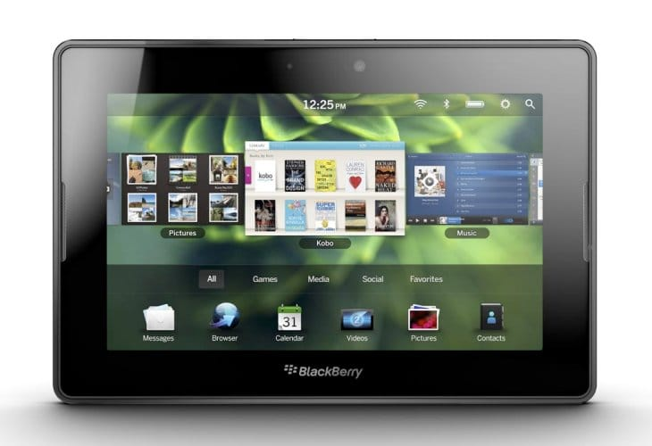 BlackBerry 10 tablet release uncertainty following CEO admission