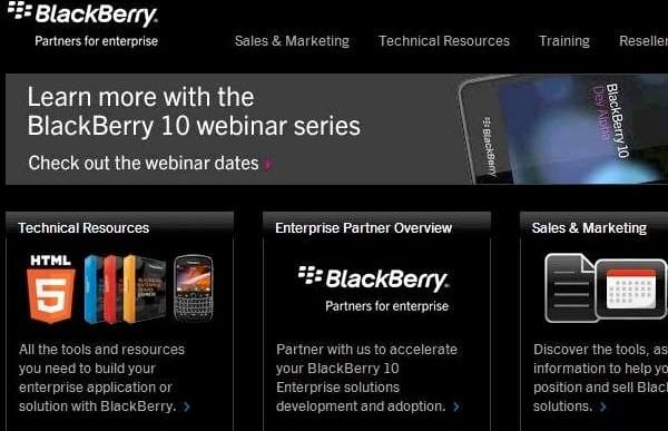 Features for BlackBerry 10 phones with enterprise service