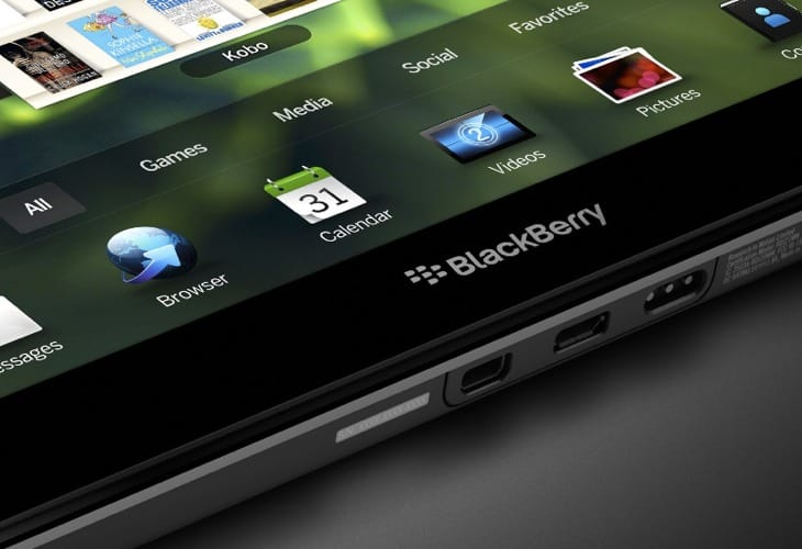 BlackBerry PlayBook 2 evidence