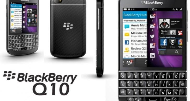 BlackBerry Q10 release date and pricing in Canada
