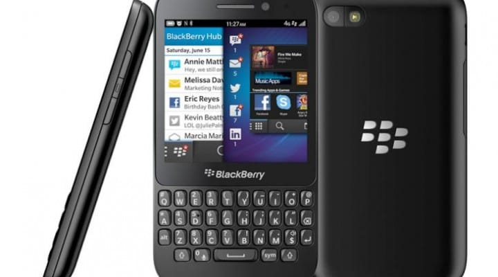 BlackBerry Q5 review, specs and video samples