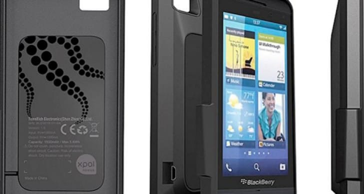 BlackBerry Z10 battery life issues resolved with PowerSkin