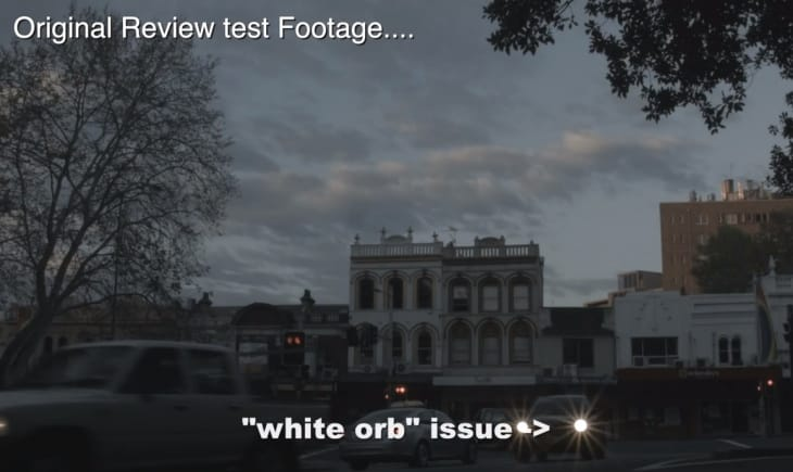 BlackMagic Pocket Cinema Camera firmware update resolves white orb issue