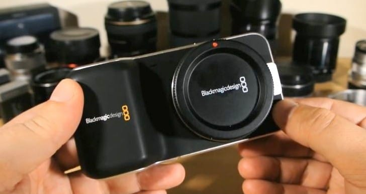 Blackmagic Pocket Cinema Camera crop factor and lenses