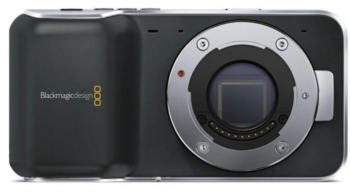 Blackmagic Pocket Cinema camera unboxed