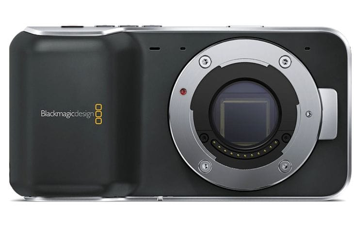 Blackmagic Pocket Cinema camera unboxed