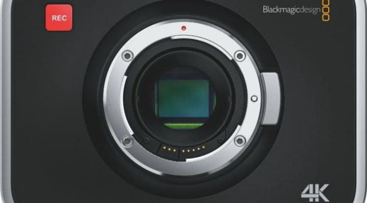 Blackmagic production camera 4K footage