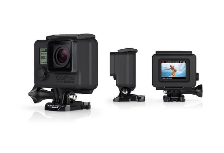 Blackout Housing supports GoPro HERO4