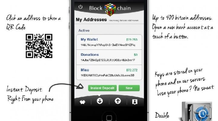 Blockchain wallet app for iPhone removed