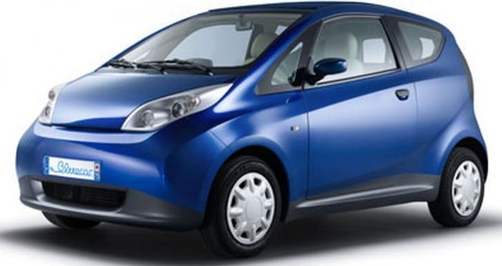 Bluecar launch electric car scheme to London in 2015
