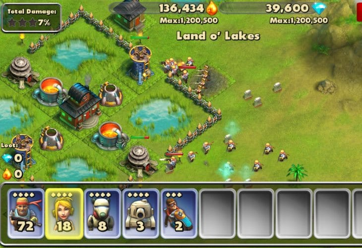 Boom Beach Android alternative in May update