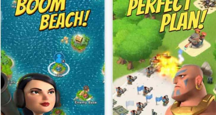 Boom Beach Balance changes in latest update