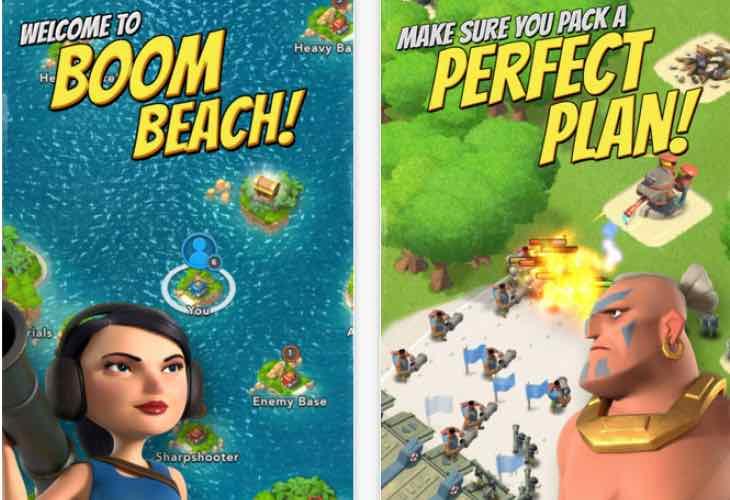 Boom Beach Balance changes