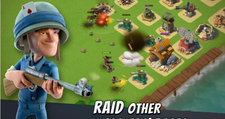 Boom Beach snubs Christmas in winter update