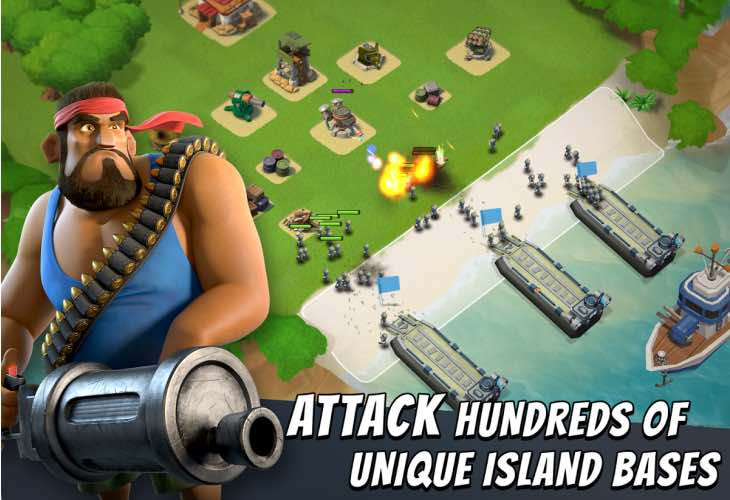 Boom Beach snubs Christmas