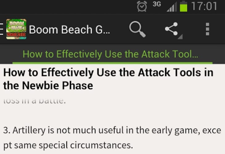 Boom Beach tease for Android users