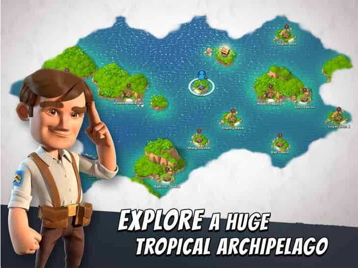 Boom Beach update in July