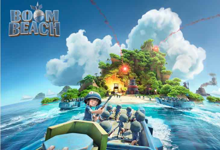 Boom Beach update not in June