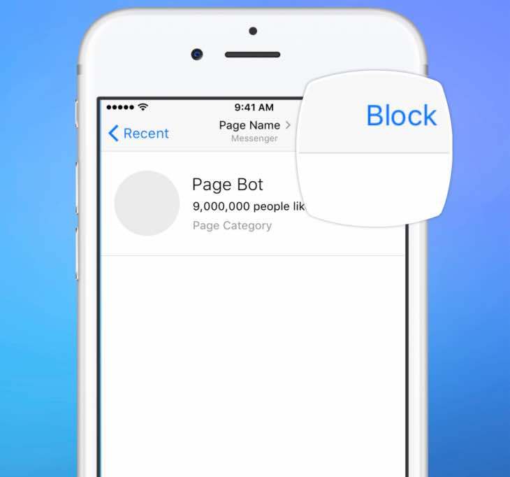 Bots for Messenger Platform concerns