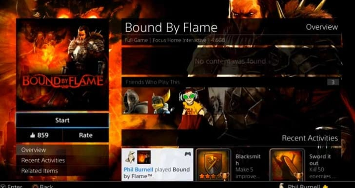 Bound By Flame PS4 quest gameplay in 5 hours