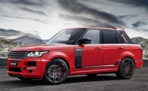 Brabus Range Rover pickup an abomination