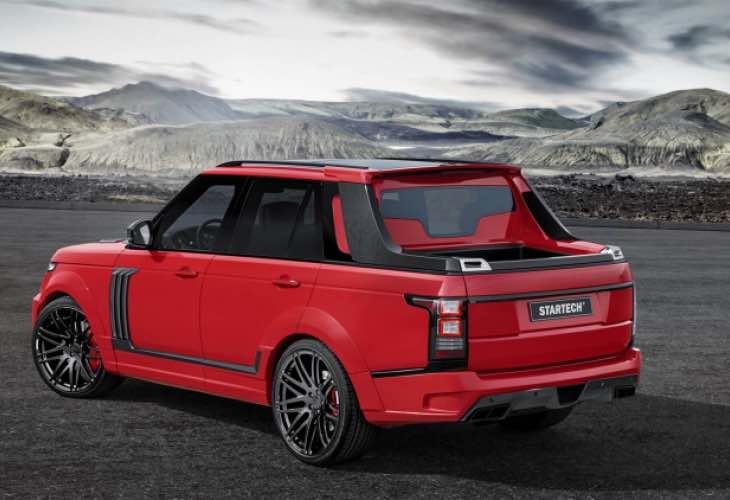 Brabus Range Rover pickup