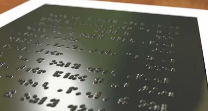 Braille Kindle for the blind, price a concern