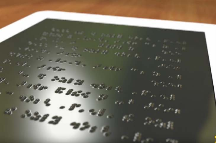 Braille Kindle for the blind