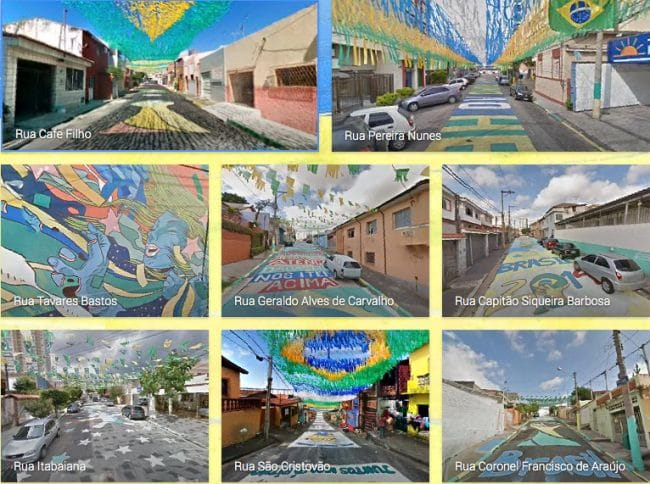 Brazil Painted Streets