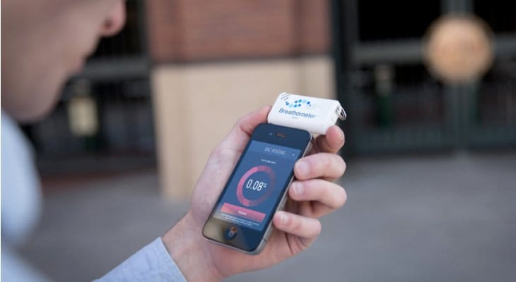 Breathometer for your smartphone