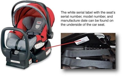 Britax Car Seat Recall List