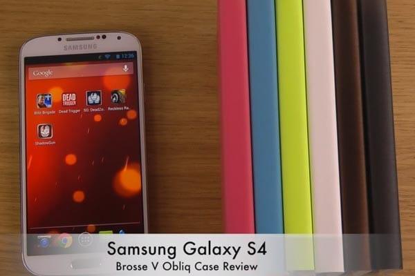 Brosse V Obliq Galaxy S4 case in visual review