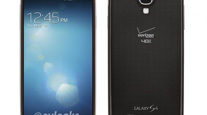 Samsung Galaxy S4 in brown for Verizon