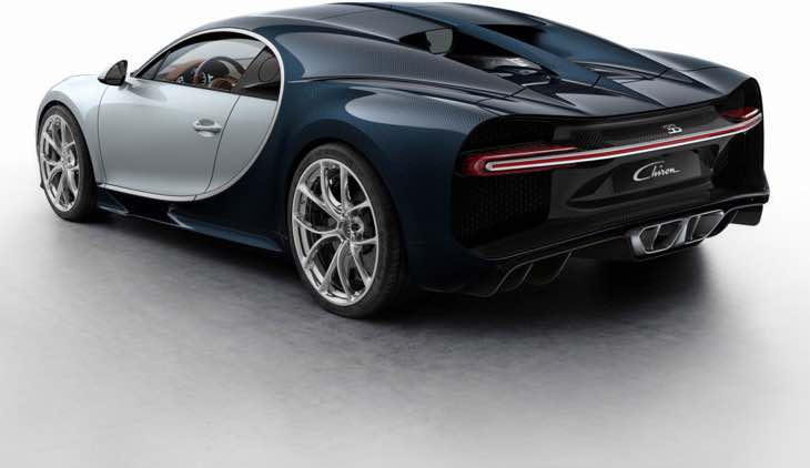 Bugatti Chiron color options