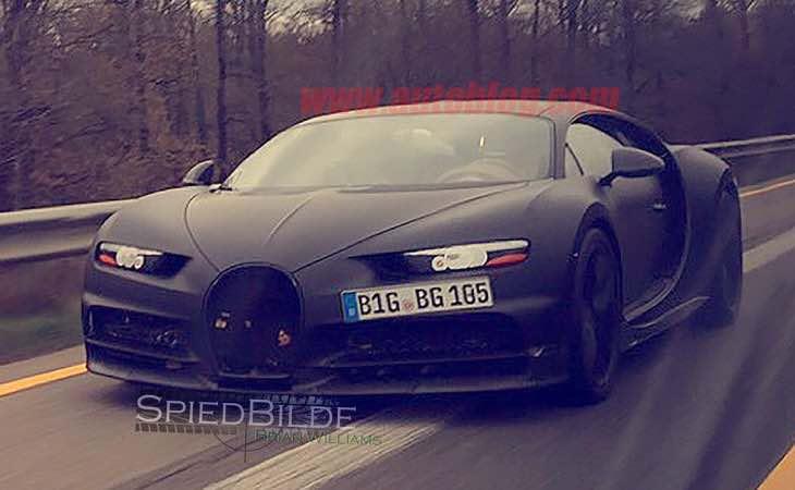 Bugatti Chiron design dissected